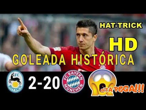 Goleada histórica!!! Bayern De Munique 20×2 FC Rottach Egern