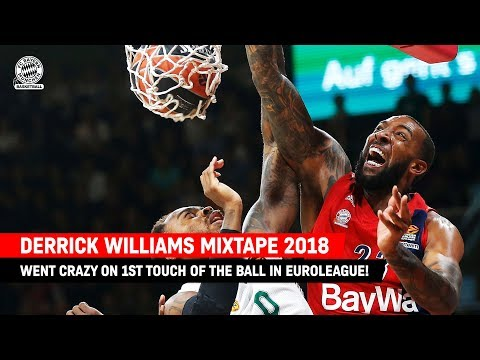 Derrick Williams Official 2018 Mixtape | Best Dunks for FC Bayern Basketball in the EuroLeague