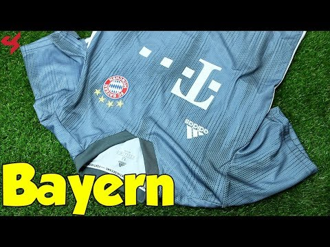 Adidas FC Bayern Munich 2018/19 Third Jersey Unboxing + Review