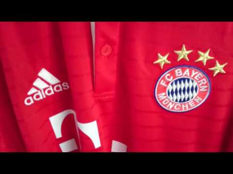 Bayern Munich 2016 / 2017 home shirt