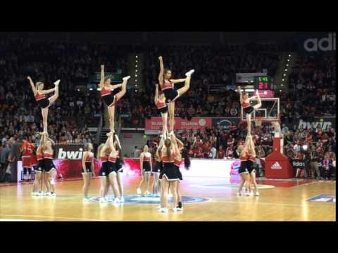Munich Cheer Allstars at Fc Bayern München Basketball
