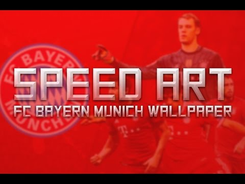Speed Art – FC Bayern Wallpaper