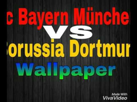 Borussia Dortmund vs FC Bayern München Wallpaper  |  Fußball Wallpaper