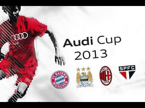 Audi cup 2013 final Manchester City vs Bayern Munich (Full Game)