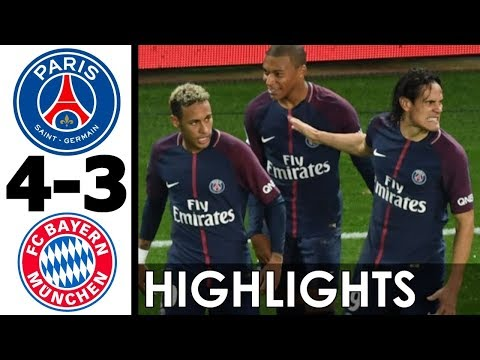 PSG vs Bayern Munich 4-3 All Goals and Extended Highlights (UCL) 2017-18 Group Stage HD 720p