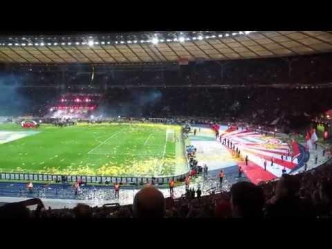 Olympiastadion Berlin, 17.5.2014: DFB-Pokalendspiel FC Bayern München – Borussia Dortmund
