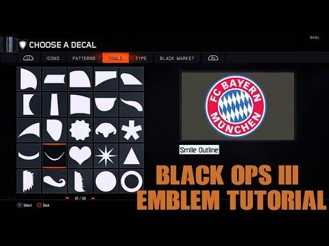 FC Bayern Munchen 2016 – (Black Ops 3 Emblem Tutorial)