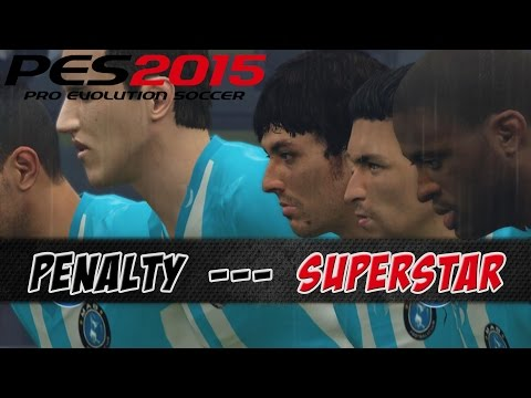 PES 2015 – Penalty Shootout – FC Bayern München vs Manchester City | Superstar [PS4]