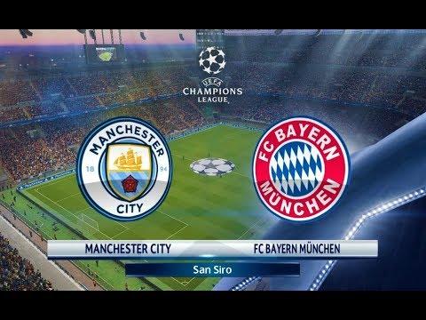 Manchester City vs Bayern Munchen | UEFA Champions League 2018 | PES 2018 Gameplay HD