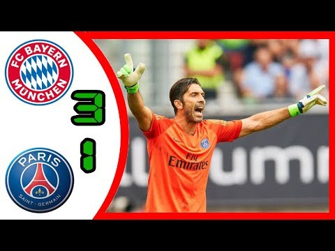 Bayern Munich vs. Paris Saint Germain 3-1 All Highlights & Goals 21/07/2018 HD