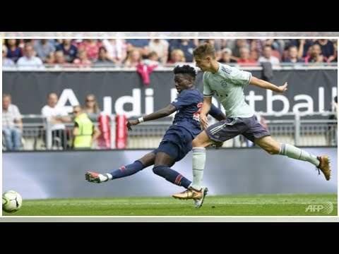Football: Bayern dominate PSG 3-1 in pre-season friendly