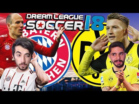 Bayern Münih Vs Borussia Dortmund – Onur İle Dev Derbi – Dream League Soccer 2018
