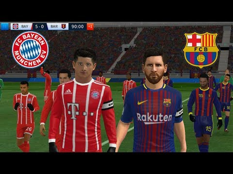 BAYERN MUNICH vs BARCELONA ★ Dream League Soccer 2018 HD Gameplay (Android | IOS)