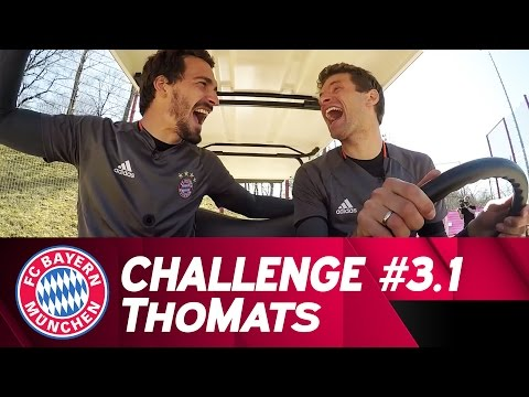ThoMats #3 – Part 1 | Football Golf Challenge | Müller vs. Hummels