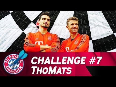 ThoMats #7 | Football-Darts Challenge | Müller vs. Hummels