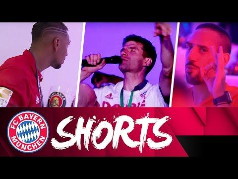 Running Man & der tanzende Müller – FC Bayern Shorts | Double Edition