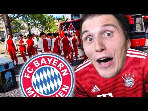 Mein erster ARBEITSTAG beim FC Bayern München ✪ Fernbus Simulator (BUNDESLIGA DLC)