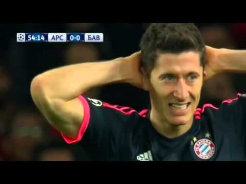 Arsenal 2-0 Bayern Munich (C1) Champions League 2015