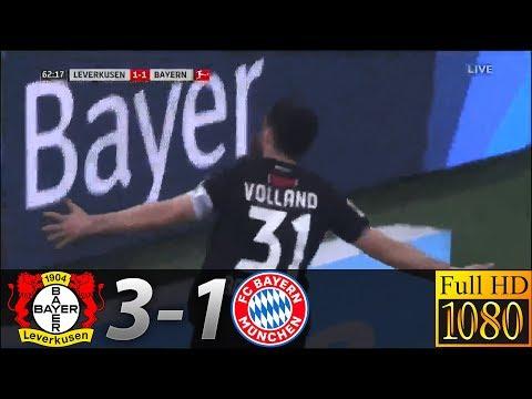 Bayer Leverkusen 3-1 Bayern Munich | Highlights & Goals | 02/02/2019 ● HD