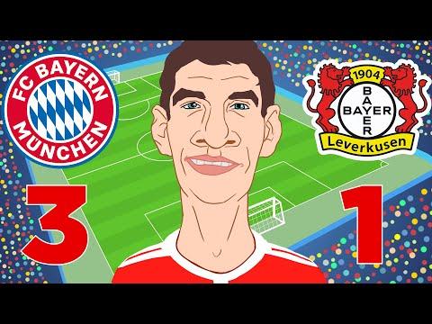 Bayern München Vs Bayer Leverkusen 3-1 Highlights Bundesliga 15/09/2018
