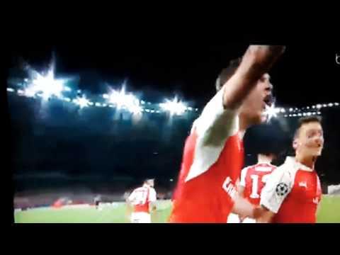 Ozil Goal Vs Bayern Munchen 2-0