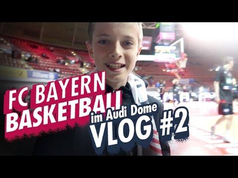 FC Bayern Basketball im Audi Dome / Vlog #2