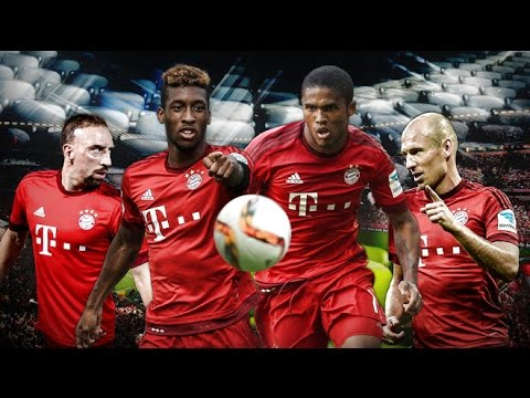 Kingsley Coman vs Douglas Costa 2016 – Skills , Goals, Assists – bayern munich players