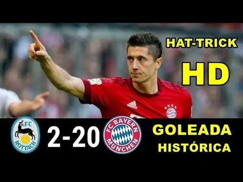 Bayern de Munique 20 x 2  FC Rottach Egern a maior goleada da história do futebol
