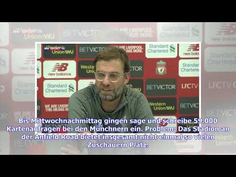 Run auf FCB-Tickets in Liverpool: 98 von 100 Anfragen abgelehnt!
