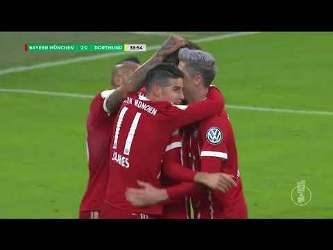 Bayern Münih – Borussia Dortmund: 2-1 (İşte maçın özeti) Almanya Kupası 20 Aralık 2017