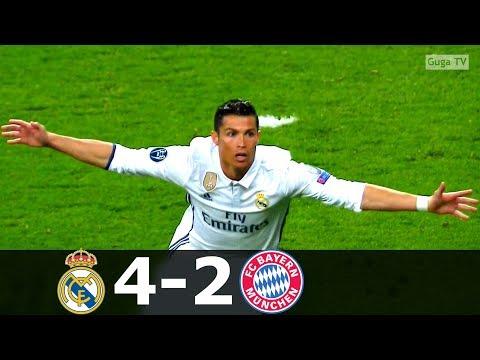 Real Madrid vs Bayern Munich 4-2 (aet) – UCL 2016/2017 (2nd Leg) – Highlights HD