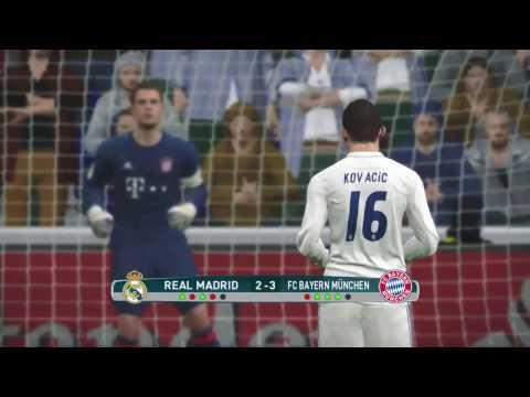 ركلات الترجيح   الريال مادريد ضد بايرن ميونيخ Bayern München vs Real Madrid