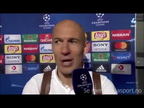 Robben says Real Madrid qualify by the referee against Bayern München