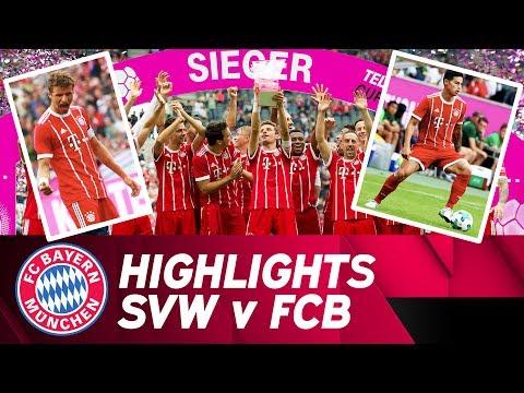 SV Werder Bremen – FC Bayern 0:2 | Highlights | Telekom Cup – Final