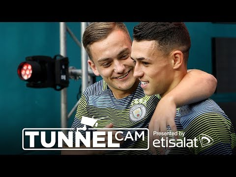TUNNEL CAM | Bayern Munich 2-3 Man City #mancity