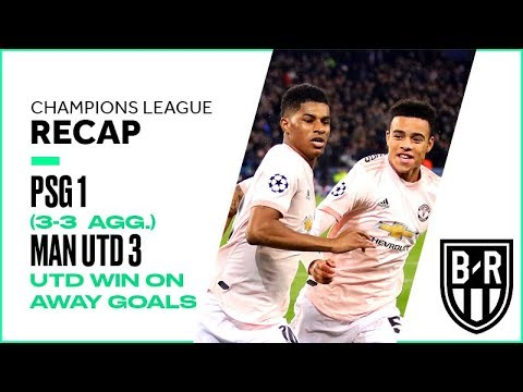 PSG 1-3 Manchester United (3-3 agg.): Champions League Recap, Highlights, Goals, Moments