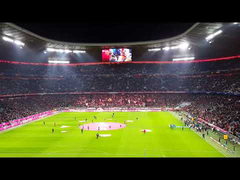FC Bayern Munich 'Forever Number One' Song at Allianz Arena