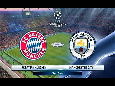Bayern Munchen vs Manchester City   UEFA Champions League 2018   Penalty Shootout   PES 2018 HD