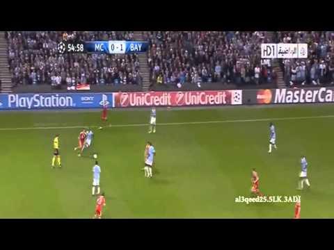 Manchester City vs Bayern Munich 1 3    All Goals & Highlights    2 10 2013 HD