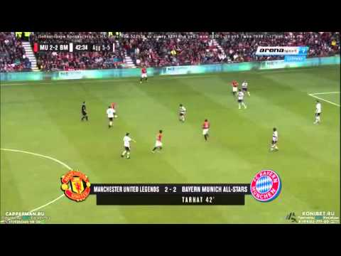 Manchester United vs Bayern Munich 4-2 All Goals l Legends Charity Match 14/06/2015