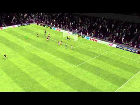 SK Austria Klagenfurt vs Paris Saint-Germain – But de Luyindula 9eme minute
