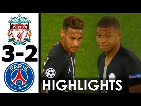Liverpool vs PSG 3-2 All Goals and EXT Highlights w/ English Commentary (UCL) 2018-2019 HD 1080i