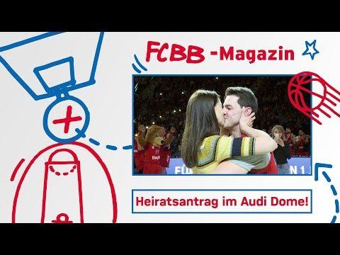 FCBB-Magazin, Folge 69: Heiratsantrag im Audi Dome