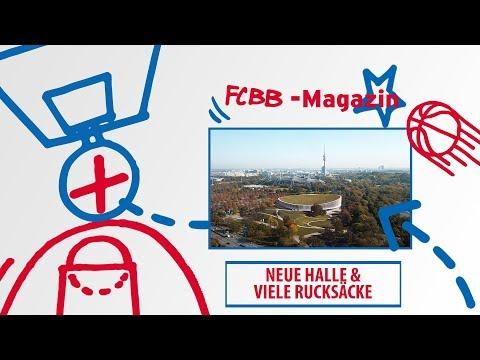 FCBB-Magazin, Folge 70: Neue Halle & viele Rücksäcke