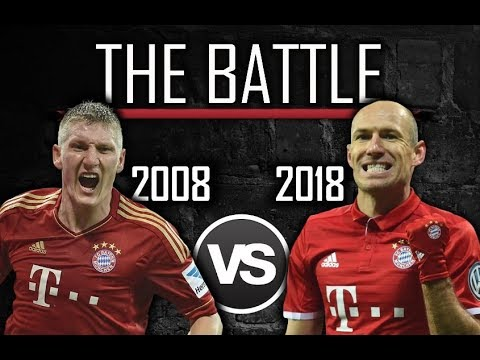 The Battle: Bayern Munich 2008 vs 2018