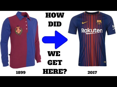 The Curious History of the FC Barcelona Jersey