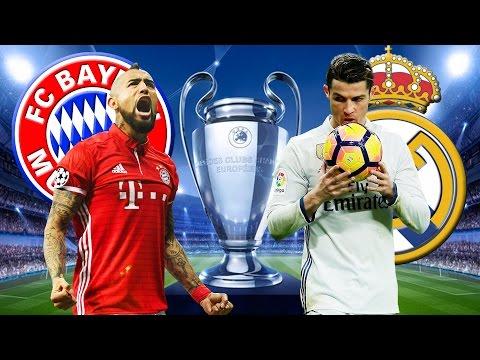 FC BAYERN MÜNCHEN vs REAL MADRID 1:2 Champions League Viertelfinale 12.04.2017