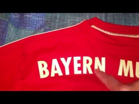 How to Spot a Fake Soccer Jersey on EBAY, Bayern Munich.