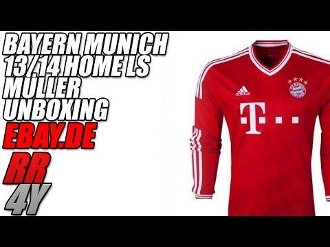 Unoxing/Legit Check eBay Bayern 13/14 LS Jersey