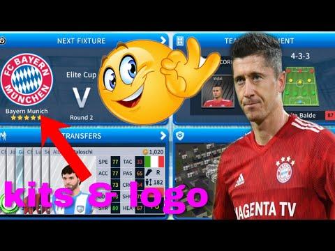 How To Create Bayern Munich Team Kits & Logo   Dream League Soccer 2019
